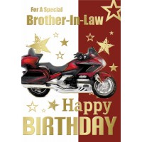 Happy Birthday - Brother In Law - Pack Of 12
