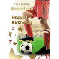 Happy Birthday - Grandson - Pack Of 12