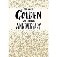 On Your Golden Anniversary - Pack Of 12