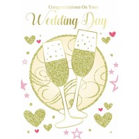 On Your Wedding Day - Congratulations - Pack Of 12
