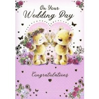 On Your Wedding Day - Congrats - Pack Of 12