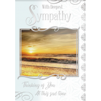 With Deepest Sympathy - Thinking Of You At This Hard Time - Pack Of 12