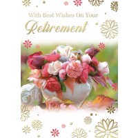 Retirement - Best Wishes - Pack Of 12