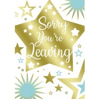 Sorry You're Leaving - Pack Of 12