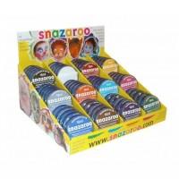 Snazaroo - Classic Colours 18ml Pots CDU