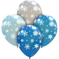 "Superior Snowflakes 12"" Latex 25ct"