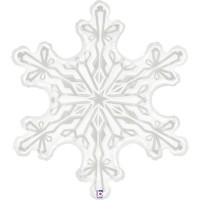 """Snowflake 38"""" Foil Balloon"""
