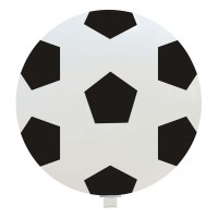 "Soccer Ball 35"" Latex Balloon 1Ct"