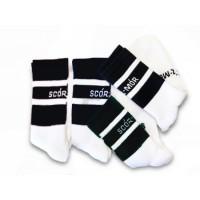 GAA Scór-Mór Midi Socks - Size Small 12-2 Black