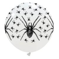 "Spiders Halloween Superior 32"" Latex Balloon 1Ct"