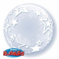Deco Bubble  Stylish Stars 24""