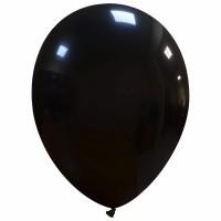 """Superior 10"""" Black Latex 100ct"""