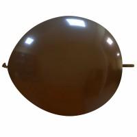 "Superior 12"" Brown Linking Balloon 50Ct"