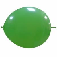 "Superior 12"" Green Linking Balloon 50Ct"