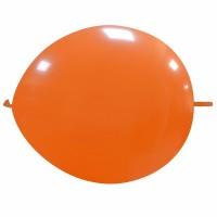 "Superior 12"" Orange Linking Balloon 50Ct"