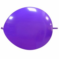 """Superior 12"""" Purple Linking Balloon 50Ct"""