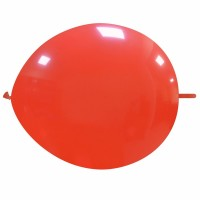 """Superior 12"""" Light Red Linking Balloon 50Ct"""