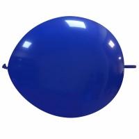 """Superior 12"""" Dark Blue Linking Balloon 50Ct"""