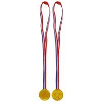 Medal Gold Winner 3.5cm Bulk  W/70cm Neck Cord 360CT