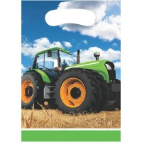 Tractor Time Loot Bags 8CT