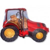 "Red Tractor - Jumbo - 29"" x 37"""