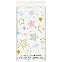 Twinkle Twinkle Little Star Plastic Tablecover 1ct