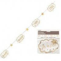 Twinkle Twinkle Little Star Paper Garland 1ct
