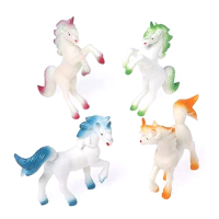 Unicorn Figurine Balloon Weight 24CT