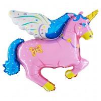 Unicorn Pink (Jumbo) 36″ Flat