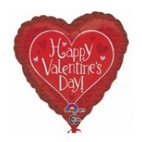 "Happy Valentine's Day - 18"" Foil Balloon"