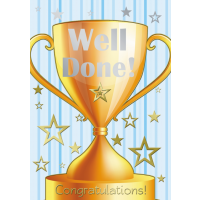 Well Done - Congratulations - Pack Of 12