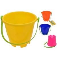 """Round Castle Sand Bucket 5"""""""