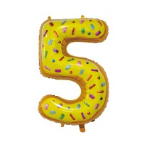 """30"""" Number 5 Foil Balloon"""