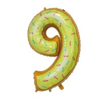 """30"""" Number 9 Foil Balloon"""