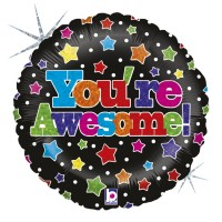 """You're Awesome 18"""" Foil Balloon"""